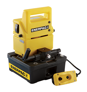 Enerpac 700 BAR Compact Electric Pump (Manual 3 Way Valve)
